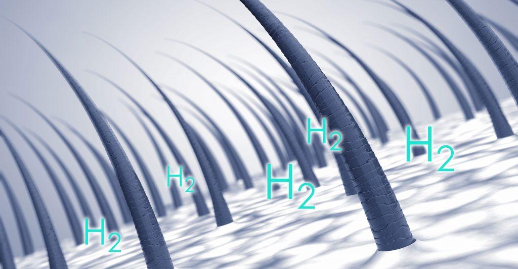 氫分子 頭髮