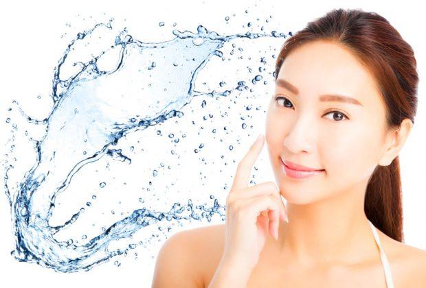 氫氣氫水能使臉部美白