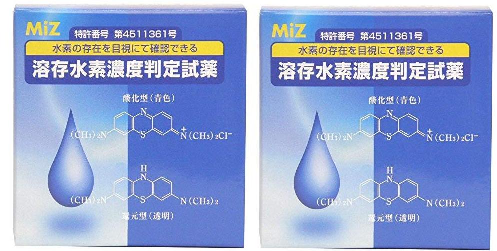 日本 MIZ 公司開發溶存水素滴劑